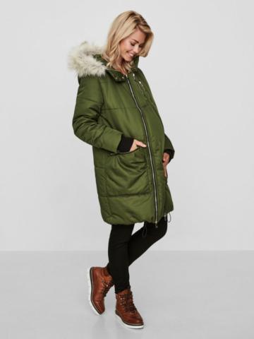 mamalicous riflegreen Schwangerschaftsjacke