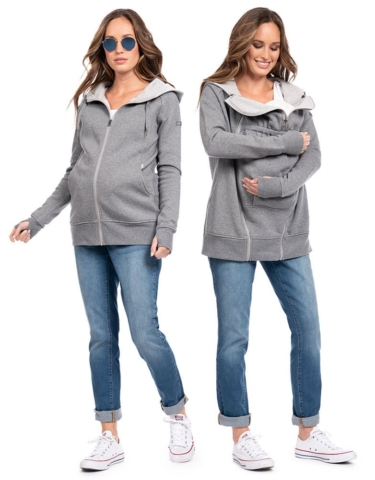 seraphine connor grey sweatshirt